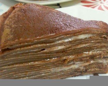 Milo Crepe Cake Recipe