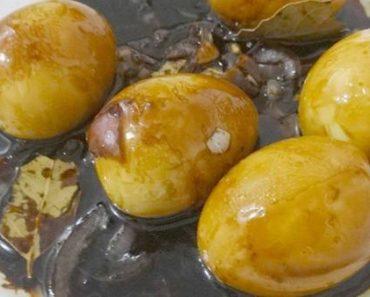 Egg Adobo Recipe