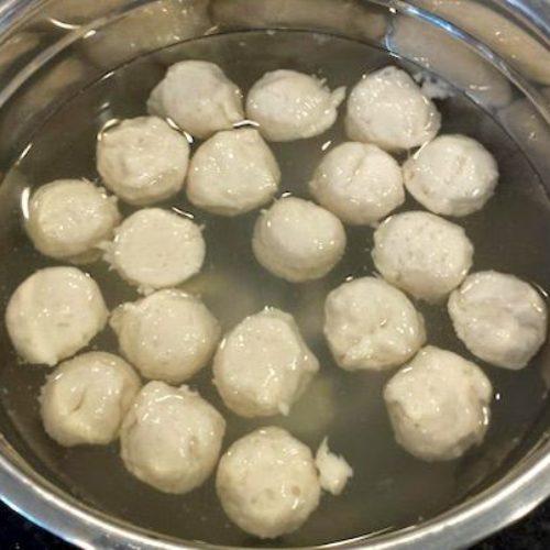 Homemade Fish Balls Recipe