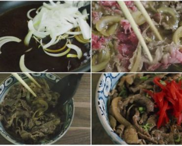 Japanese Beef Bowl Recipe