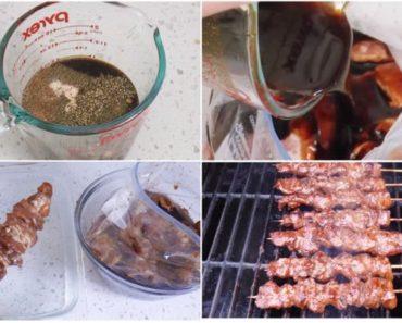 Pinoy Pork Barbeque Recipe