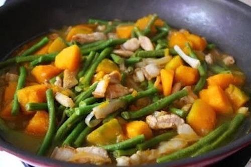 Ginisang Sitaw at Kalabasa Recipe